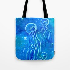 Jelly Blues Tote Bag