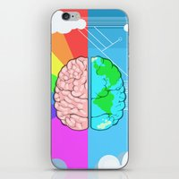 technology iPhone & iPod Skins featuring Technology minded by JW's art