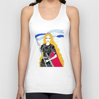 justice Tank Tops featuring Justice by Alxndra Cook