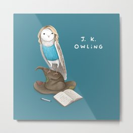 J. K. Owling Metal Print