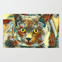 AnimalArt_Cat_20170901_by_JAMColorsSpecial Rug
