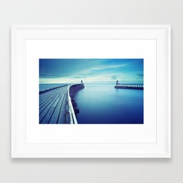 The terrestrial closest to sea Framed Art Print