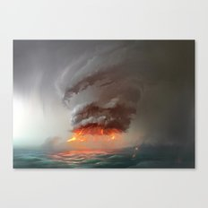 Hot Tower Canvas Print