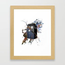 tardis Framed Art Print