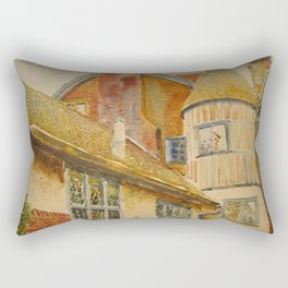 In the suburbs of London Rectangular Pillow