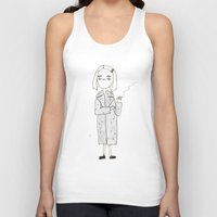 tenenbaums Tank Tops featuring the royal tenenbaums - margot by sharon