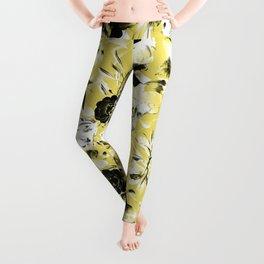 Bicolor bloom Leggings