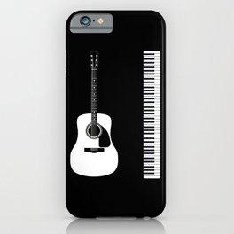Guitar Piano Duo iPhone Case