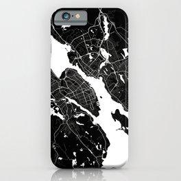 Halifax - Minimalist City Map iPhone Case