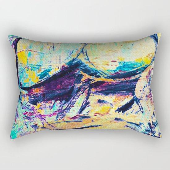 The Bath Of Fat Woman Rectangular Pillow