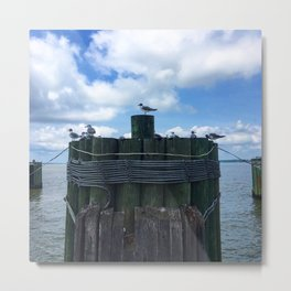 View from the Ferry Metal Print
