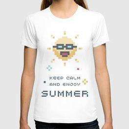 8Bit Sun T-shirt