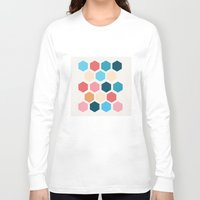 honeycomb Long Sleeve T-shirts featuring Honeycomb by Dangerous Ideas