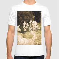 DRY TREE Mens Fitted Tee White SMALL