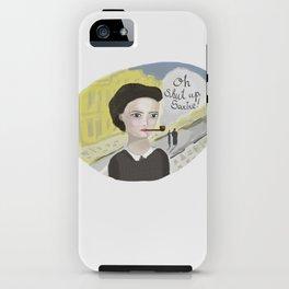 Simon de Beauvoir iPhone Case