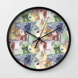 Art of the euro money Wall Clock