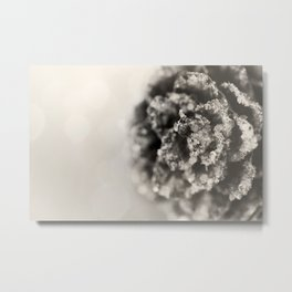 Crystallized Cone Metal Print