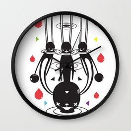 SELF-CONQUEST Wall Clock