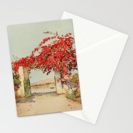 Cane, Ella du (1874-1943) - The Banks of the Nile 1913, A garden in Luxor Stationery Cards