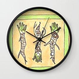 Horseradish Wall Clock