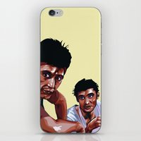 scarface iPhone & iPod Skins featuring Scarface by Taylor Gonzales