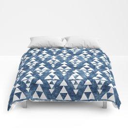STACKED NAVY Comforters