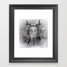 Wakanda (Dakota) - A collaboration with Christelle Guilhen Framed Art Print