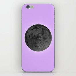 BLACK MOON + LAVENDER SKY iPhone Skin