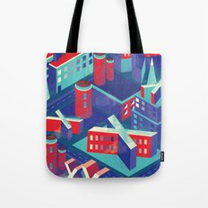 Isometric X city Tote Bag