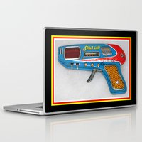 gun Laptop & iPad Skins featuring GUN by Kathead Tarot/David Rivera