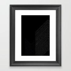 Arrows by Friztin Framed Art Print