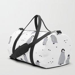 Baby Emperor Penguins Duffle Bag