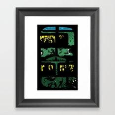 What lies beneath Framed Art Print