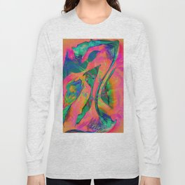 Psychedelic sketch Long Sleeve T-shirt