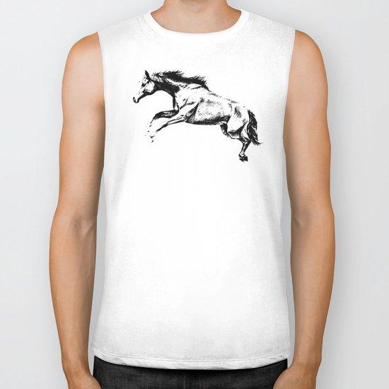 Horse Biker Tank