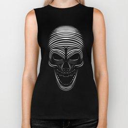Tribal Skull Biker Tank