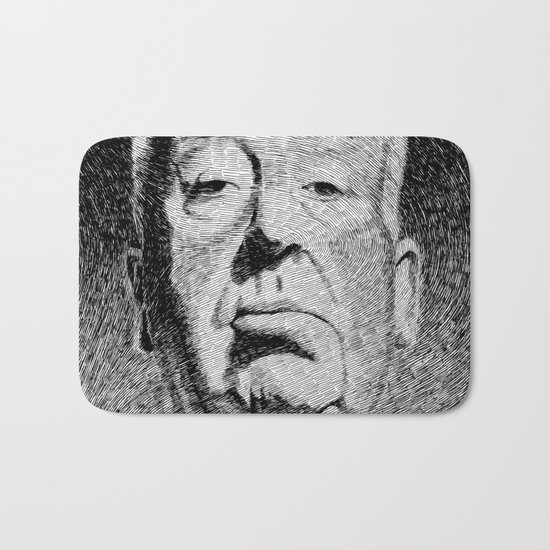 Fingerprint - Hitchcock Bath Mat