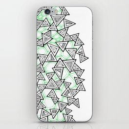 Triangles and Tessellation iPhone Skin