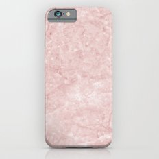 Pink Marble Texture - Pretty in Pink Marble Pattern iPhone 6s Slim Case