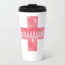 Paramedic Saving Lives Everyday EMT EMS Distressed Travel Mug