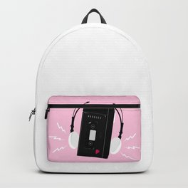 I hear synthwave music Backpack