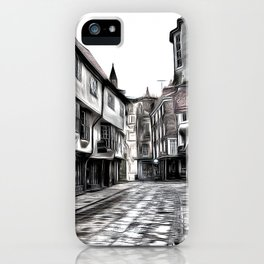 The Shambles York Art iPhone Case