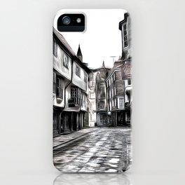 The Shambles York Art iPhone Case