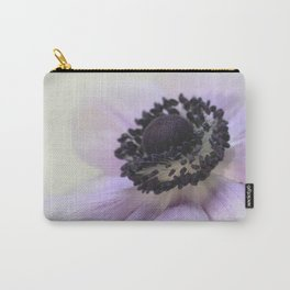 Pale Purple Anemone Carry-All Pouch