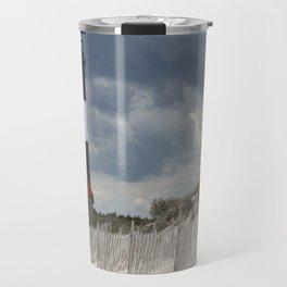 Fire Island Light From The Beach Travel Mug
