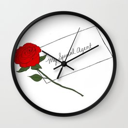 Twin Peaks - My Special Agent Wall Clock