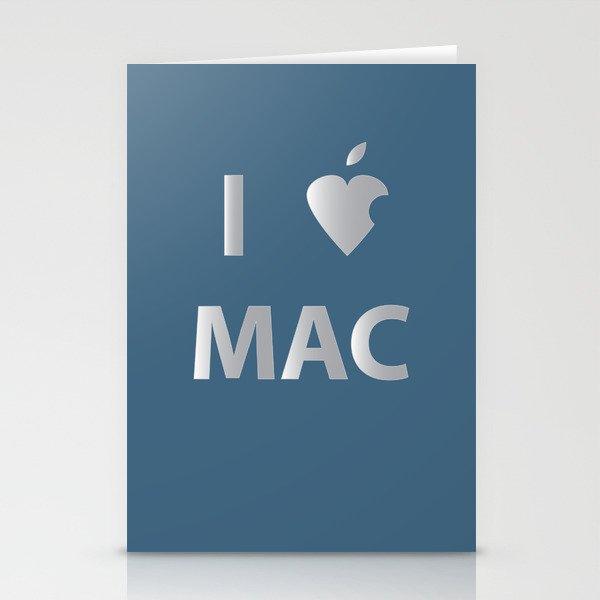 I heart Mac Stationery Cards