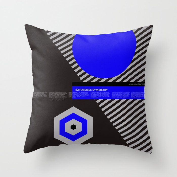 Impossible Symmetry - By Throw Pillow