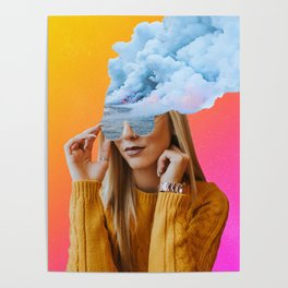 blowing off steam Poster