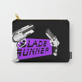 Time to die Version Neon Purple Carry-All Pouch